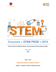 STEM PRIZE 2019 COMPETITION VERSION FRANCAISE