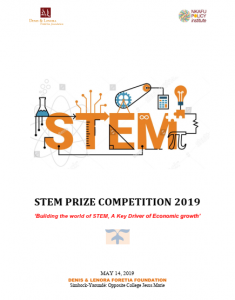 STEM PRIZE COMPETITION 2019 ENGLISH VERSION