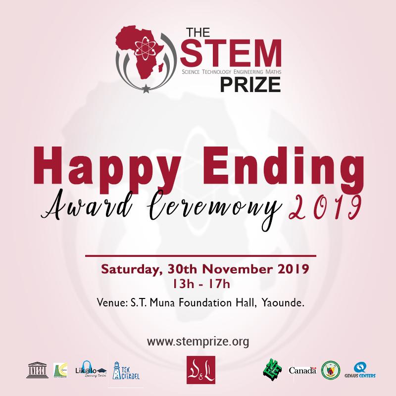 2019 STEM Prize awards Happy Ending Banner