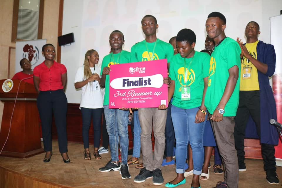 3rd Runner Up of the 2019 STEM Prize